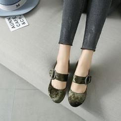 锦洋鞋业 - 粗跟高跟鞋