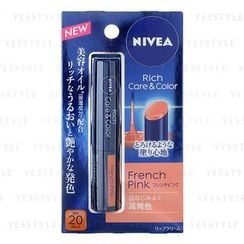 NIVEA - Rich Care & Color Lip (French Pink) SPF 20 PA++