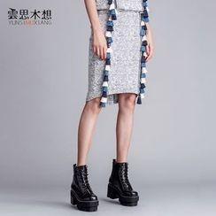 Cloudwood - 吊蘇鉛筆裙