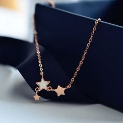 MOMENT OF LOVE - Star Anklet