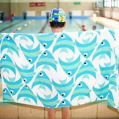 TAPIS - Fish Print Bath Towel