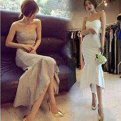 ZAPPA - 抹胸魚尾禮服中裙