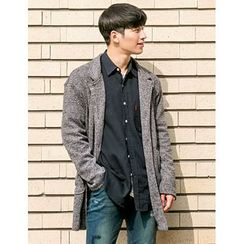 STYLEMAN - Single-Breasted Knit Cardigan