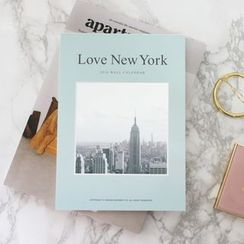 BABOSARANG - '2016 LOVE NEWYORK' Photo Wall Calendar (M)