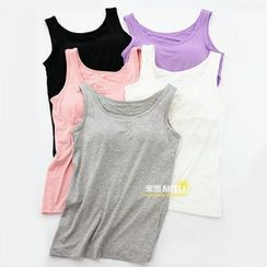 MITU - Plain Wireless Tank Top