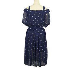 Flore - Printed Chiffon Dress