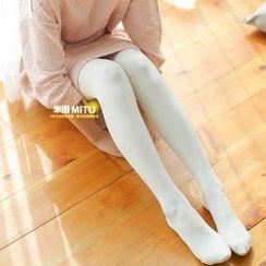 MITU - 纯色加绒抓毛贴身裤