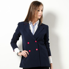 YesStyle Z - Double Breasted Blazer