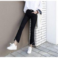 Enocula - 靴形窄身牛仔褲