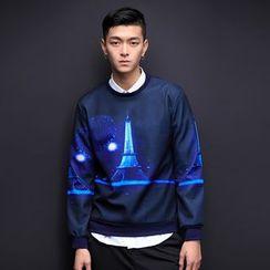 Alvicio - Print Sweatshirt