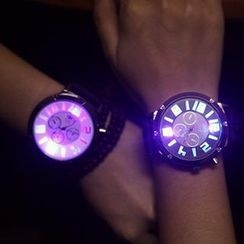 Tacka Watches - Luminous Couple Bracelet Watch