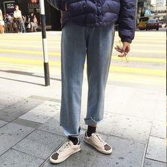 Sinbounboun - 宽腿牛仔裤