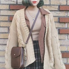 MATO - Cable Knit Cardigan