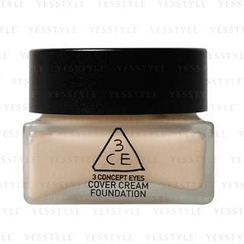 3 CONCEPT EYES - Cover Cream Foundation (Natural Ivory)