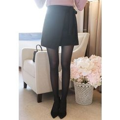 MyFiona - Banded-Waist Flap-Front Skirt