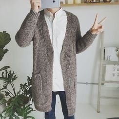 Arthur Look - Mélange Long Cardigan