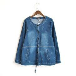 Waypoints - Embroidered Denim Jacket