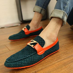 Hipsteria - Faux Suede Loafers
