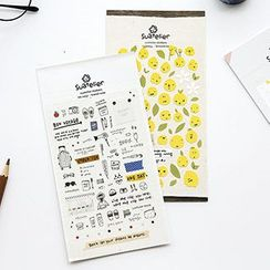 Class 302 - Diary Stickers