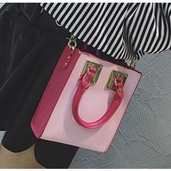 Youshine - Faux Leather Shoulder Bag