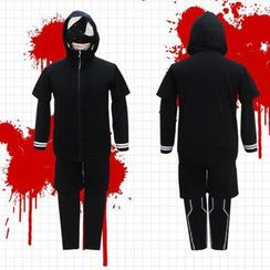 Flamo - Tokyo Ghoul Ken Kaneki Cosplay Costume (NOT INCLUDED the mask)