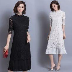 Soraka - Lace Maxi Dress