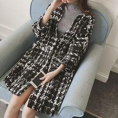 Bloombloom - Woolen Long Coat
