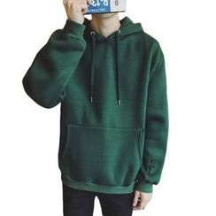 DragonRoad - Lettering Embroidered Hoodie