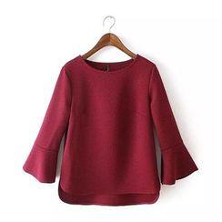 Chicsense - 3/4-Sleeve Top
