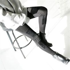 GLAM12 - Brushed Fleece Lined Leggings