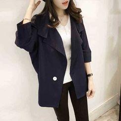 VIZZI - 3/4-Sleeve Loose Fit Jacket