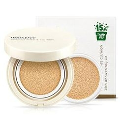 Innisfree - 15th Anniversary Set : Innisfree Ampoule Intense Cushion with Refill (#21 Natural Beige)