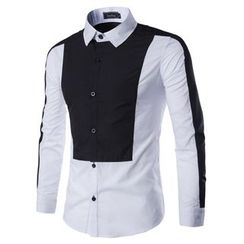 Fireon - Two-Tone Long-Sleeve Shirt