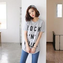 Envy Look - Logo Print T-Shirt