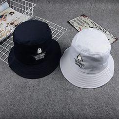Skycap - 刺繡漁夫帽