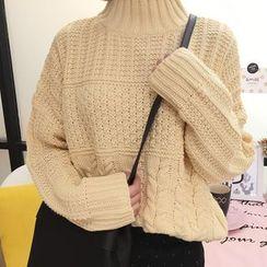 YUKISHU - Cable-Knit Sweater