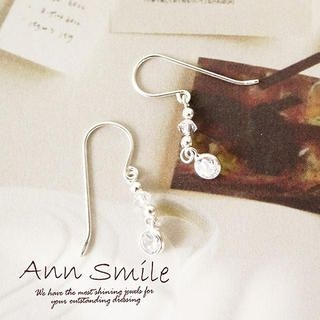 AnnSmile - Rhinestone Earrings