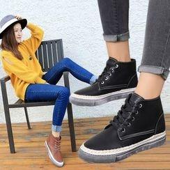 Sunsteps - Lace Up Short Boots