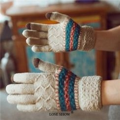 Lose Show - Patterned Gloves