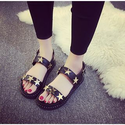 BAYO - Star Studded Sling Back Sandals