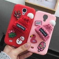 Casei Colour - Beanie Detail Mobile Phone Case - Samsung Galaxy S4