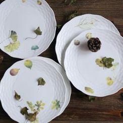 Kawa Simaya - Leaf Print Plate