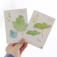Class 302 - Leaf Shaped Sticky Note