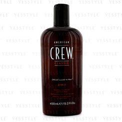 American Crew - 男士3合1洗髮護髮沐浴露