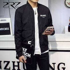 2RZ - Lettering Zip Jacket