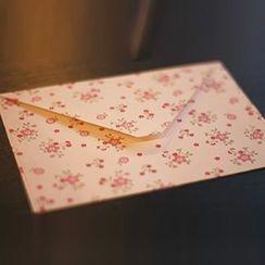 Tivi Boutique - 碎花印花信封形