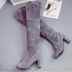 Shoeland - High Heel Over The Knee Boots