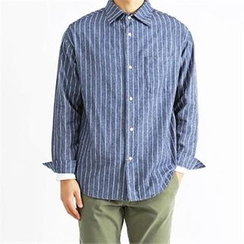 THE COVER - Pinstriped Shirt