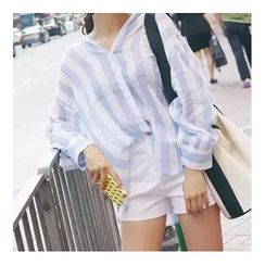 trendedge - Striped Loose Fit Shirt