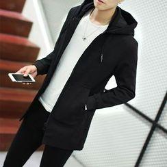 Masowild - Plain Hooded Jacket